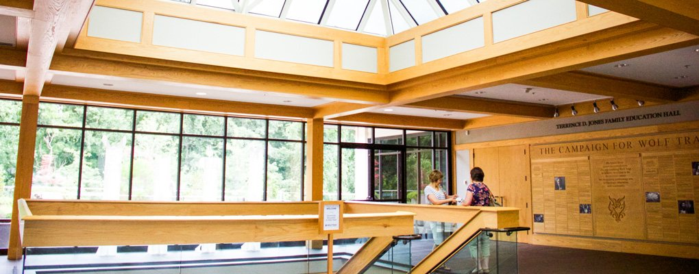 Lobby of the Center for Education