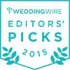 WeddingWire Editors' Pick 2015'
